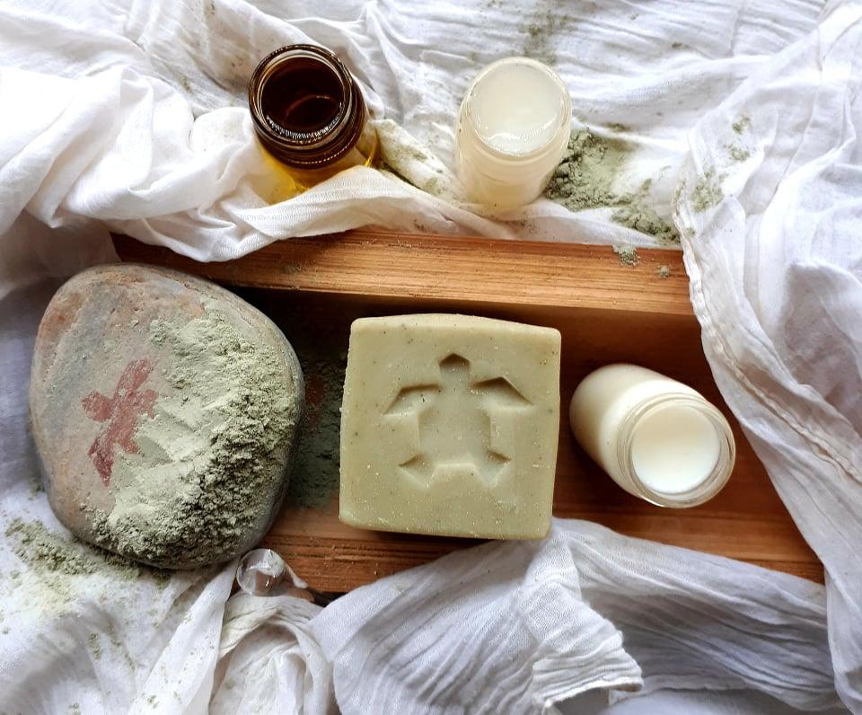 Ingrédients lait chevre argile verte - Sapo Sapo