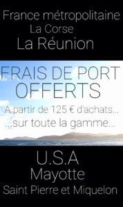 Livraison offerte France - Sapo Sapo